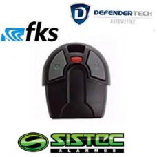 Controle Fiat Universal FKS / SISTEC / DEFENDERTECH / OUTROS - PRETO