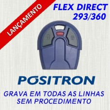 Controle Fiat Positron Flex Diret AZUL