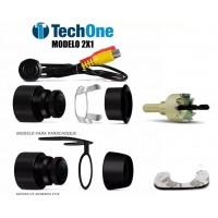 Câmera de Ré Tech One Code FLEX 2 em 1