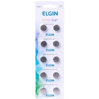 Bateria Elgin LR44 (unitário)