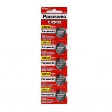 Bateria CR 2032 Panasonic  (Unitário)