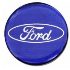 Emblema de Resina Ford Azul (min. 10 pçs)