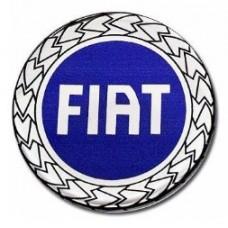 Emblema de Resina Fiat Azul (min. 10 pçs)